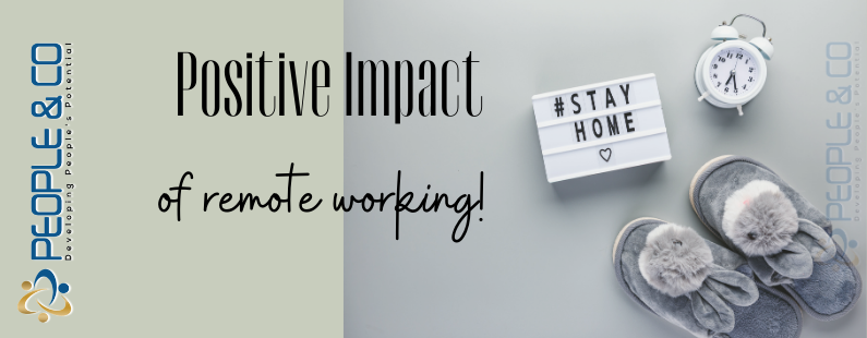 People Co LTD top positive impacts of remote home working