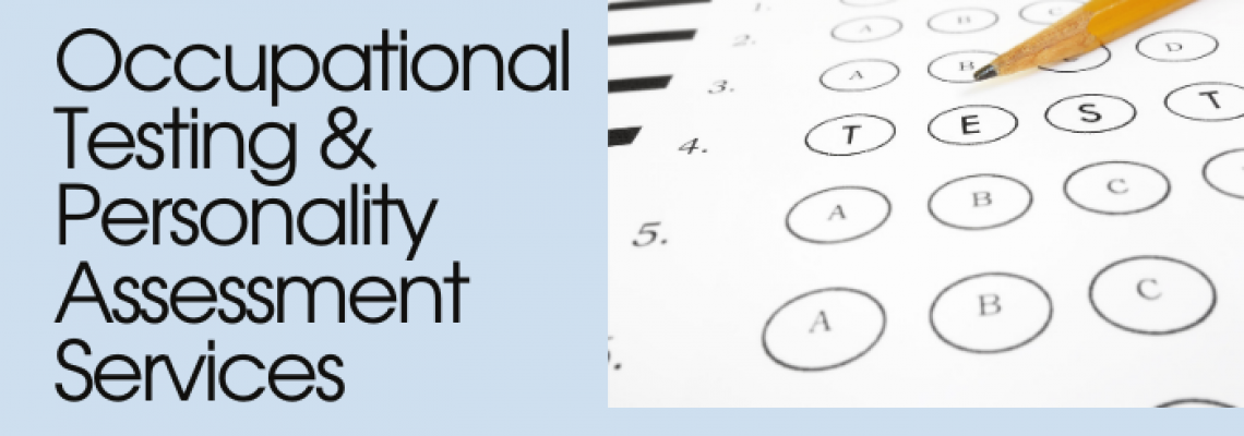 Occupational Testing & Personality Assesments