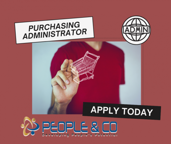 People Co Jobs vacancy job search Purchasing Administrator Retail outlet